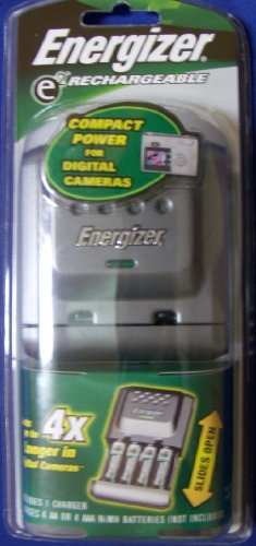 Eveready Battery Co Inc Compact Charger For AA/AAA, Nimh/Nicd