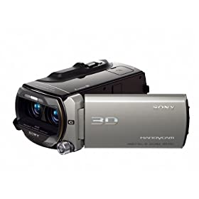Sony HDR-TD10 High Definition 3D Handycam Camcorder with 10x Optical Zoom (Dark Gray)