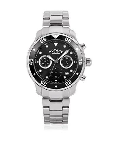 Rotary Reloj de cuarzo  Plateado 42 millimeters