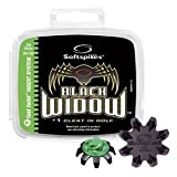 Black Widow SoftSpikes Fast Twist (16 Spikes)by Go Golf