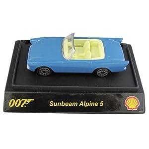 James Bond 007 Die Cast Model Car - Alpine Sunbeam 5 from Dr. No