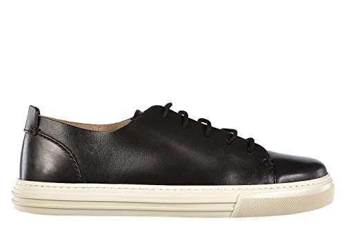 Gucci scarpe sneakers uomo in pelle nuove betis nero EU 43.5 342037 B6600 1000