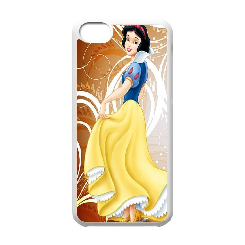 Unique Phone Case Pattern 16Snow White with Apple- For Iphone 5c