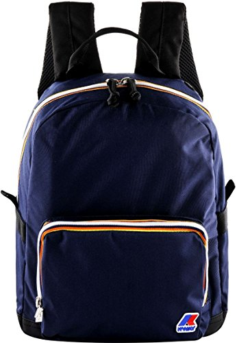 Zaino Uomo Donna K-Way K-Teen Small BackPack k8117-Blu