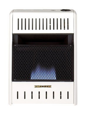 Pro-Com Dual Fuel Blue Flame Wall Heater (MD100HBA) (Through Wall Heater compare prices)