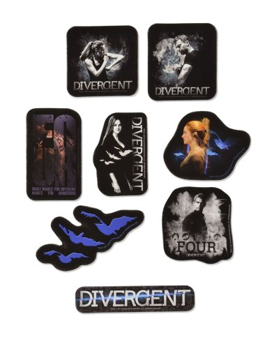 "Divergent Movie ""Divergent"" Sticker Set (8-Piece)"