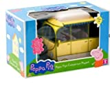 Official Peppa Pigs Giant Campervan Playset - Peppa Pig Caravan & 4 Character figures