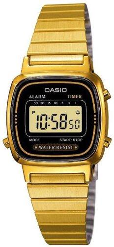 Casio Collection Damen-Armbanduhr Digital Quarz LA670WEGA-1EF