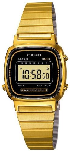 Casio Ladies Bracelet Digital Watch La670Wega-1Ef