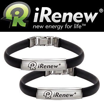 IRenew Energized Well Bracelet - Black (Set Of 2)