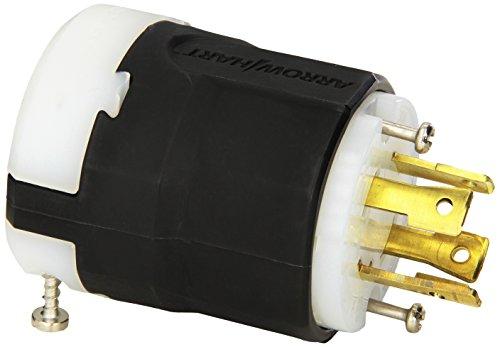 Generac 6397 30-Amp 125/250-Volt L14-30 Male Plug