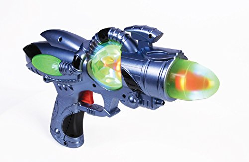 Light Up Space Man Steampunk Futuristic Toy Gun Costume Accessories (Futuristic Space Costume compare prices)