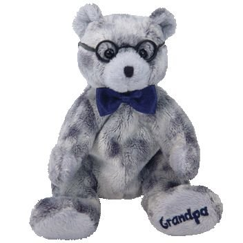 Ty Beanie Babies Grandfather the Bear