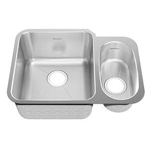 24 Inch Kitchen Sink : ... 24.875-Inch x 18.6875-Inch Double Combination Bowl Kitchen Sink