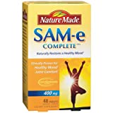 Nature Made SAM e Complete 400mg Naturally Restores a Healthy Mood 48 Tablets