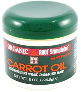 Organic Root Stimulator Carrot Oil 8 oz. Jar (Case of 6)