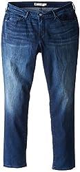 Levi's Women's Plus-Size Curvy Mid Rise Skinny Jean