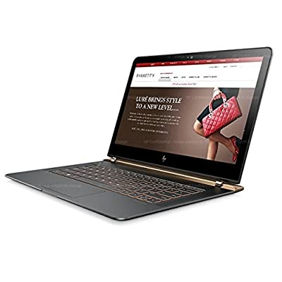 HP Spectre 13-V039TU 13.3-inch Laptop (i5-6200U/8GB/256GB/Windows 10 Pro/Integrated Graphics), Dark Ash Silver