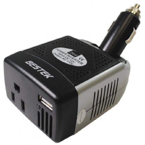 buy cheap promotion bestek 75watt 12 volt dc to 110 120 volt ac power inverter with usb adapter. Black Bedroom Furniture Sets. Home Design Ideas