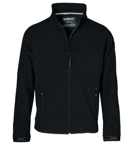 Nimbus NB01M Polyester Mens Newton Softshell Jacket, Large, Black