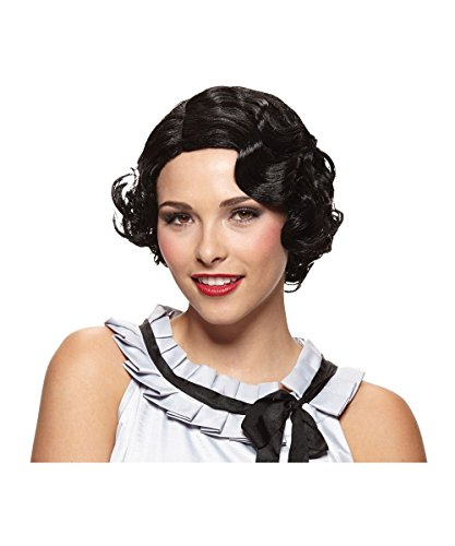 Black Gatsby Girl Wig