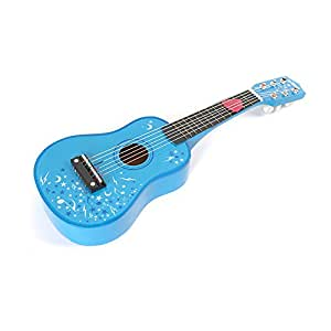 Tidlo Wooden Guitar (Blue)