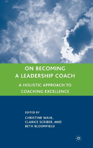 On Becoming A Leadership Coach: A Holistic Approach To Coaching Excellence front-948680