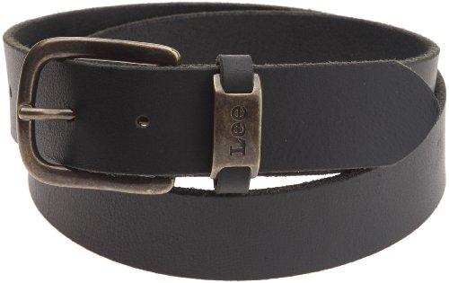 Lee - Lj Belt, Cintura da uomo, nero(schwarz (black )), taglia produttore: 100