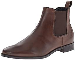 Rush by Gordon Rush Men\'s Kane Chelsea Boot, Dark Brown, 12 M US