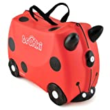 Trunki Ride-on Suitcase: Harley the Ladybug (Red)
