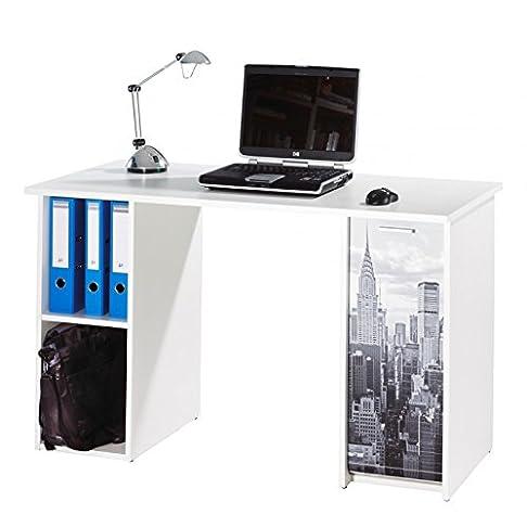 Simmob scout124bl500Scout scrivania con 2casse legno 120x 60x 74cm