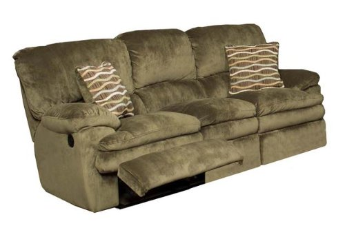 Furniture Living Room Furniture Reclining Sofa Sage