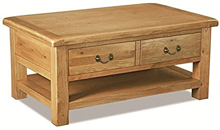 Carbis Oak Large Coffee Table