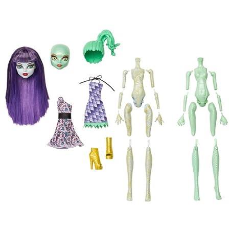 Mattel - Monster High Coffret Crea'Terreur Momie Et Gorgone