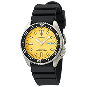 Seiko Men's Automatic Dive Urethane Strap Watch #SKXA35