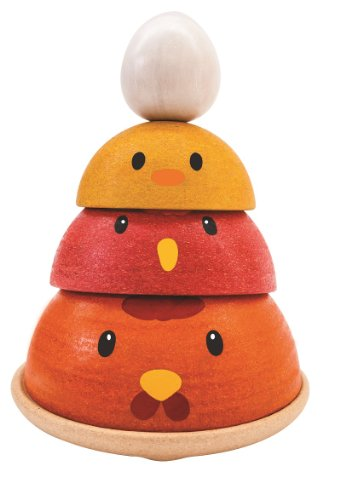 Plan Toys Chicken Nesting - 1
