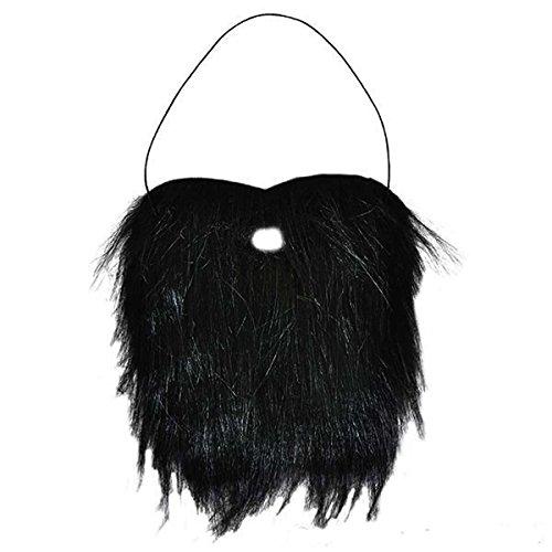Full Black Beard & Mustache