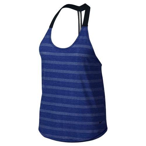 Women's Nike Elastika Elevate Training Tank (Blue, Large)