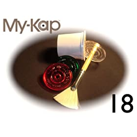 My-Kap - Reuse Your Keurig K-Cups (6 Clear, 6 Red, 6 Green) - Over 30,000 kaps sold