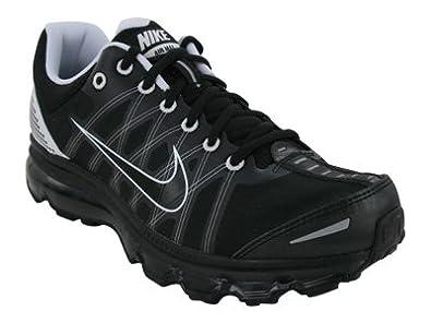 Nike Air Max + 2009 Mens Running Shoes [486978-010] Black/Black-White 486978-010-7