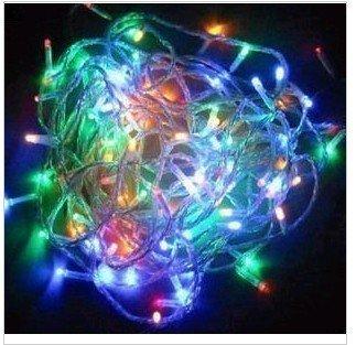 Wayllshine 8 Mode 10M 100 Led Light String Christmas Party Fairy Light(Rgb)