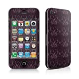 Apple iPhone 4用スキンシール【Plum Royal】