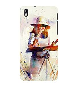 Vizagbeats painter painting Back Case Cover for HTC Desire 816::HTC Desire 816 G