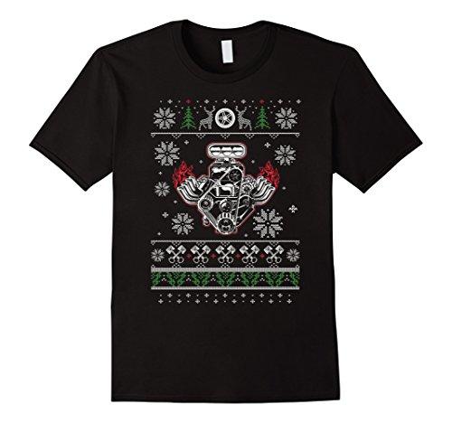 Ugly Christmas V8 Muscle Car T-Shirt