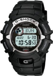 Casio G Shock Digital Dial Black Resin Mens Watch G2310R-1CR from Casio