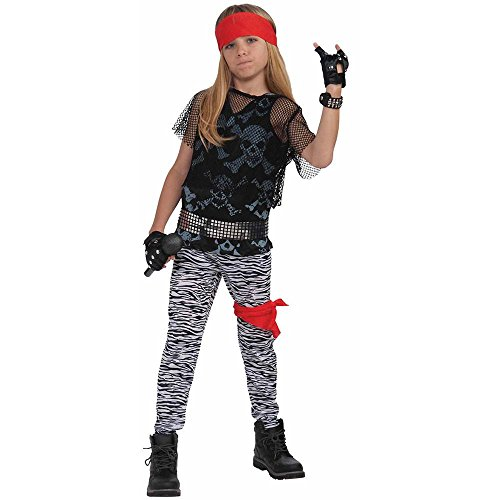80s Rock Star Boy Kids Costume