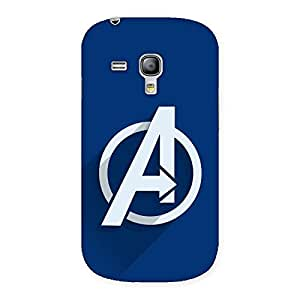 Circle A Back Case Cover for Galaxy S3 Mini