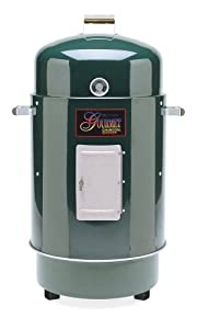 Brinkmann 852-7080-6 Gourmet Charcoal Grill and Smoker, Green