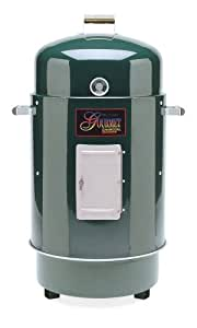 Brinkmann 852-7080-6 Gourmet Charcoal Grill and Smoker, Green (Discontinued by Manufacturer)