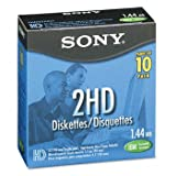 "Sony 3.5"" HD Formatted Diskettes (Pack of 10)"